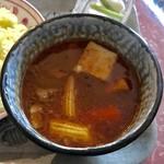 カレーハウス 伽羅 - タイ風?スープカレー。