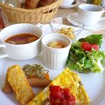 カフェ ド サンマロ - 料理写真:ヘルシーモーニング