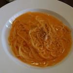 74596570 - 渡りカニ風味のトマトクリームソースのムッチリーニ