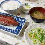 一龍食堂 - 日替わり定食 ¥500