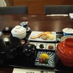日本料理 雲海 - 朝食・初期状態