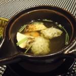 琵琶湖畔 おごと温泉 湯元館 - 松茸と鱧の土瓶蒸し