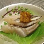 琵琶湖畔 おごと温泉 湯元館 - 太刀魚の炙り