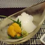 琵琶湖畔 おごと温泉 湯元館 - ヤリイカ・ウニ