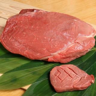 国産牛もも肉‼