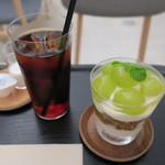 Hama House - シャイニーマスカット ヨーグルトクリーム バニラアイス&アイスコーヒー2