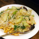 中華菜 高福 - 広東風塩味あんかけ麺¥800。