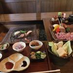 炭火焼 二三更 - 料理写真:天草大王のセット