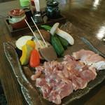 炭火焼 二三更 - 天草大王(鶏)