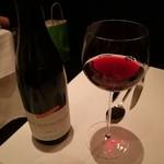 レストラン マノワ - 赤ワイン あかん酔ってきた…