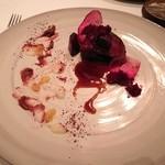 レストラン マノワ - 6品目(とん平):日本鹿のロースト あっさり味でも奥には独特の味わいが