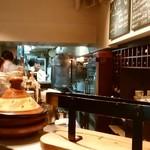 BISTRO SABLIER - オープンキッチン