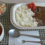 バスカフェ - 料理写真:バターライスカレー 430円