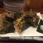 沖縄食堂 アチココ - もずくの天ぷら 580円