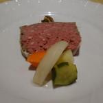 レストラン リッシュ - 自家製のパテ・ド・カンパーニュ