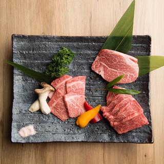 有田牛一頭買いで焼肉を極める。希少部位を少しずつたっぷりと。