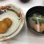 函館湯の川 啄木亭 - 五平餅?