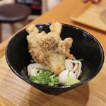 本町製麺所 天 - 鶏天うどん☆