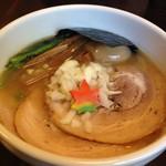 74618154 - 特性鶏白湯醤油ラーメン
