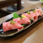 板前焼肉 一斗 - あぶり寿司☆