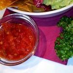 ロスカボス - メキシカンワカモーレ~自家製アボカドディップタコス添え~  に付いてたサルサソース