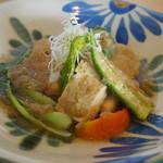ファイダマ - アカマンボウのごぼうおろし煮