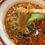 餃麺 しら石 - 担々麺 麺リフト〜(*^▽^*)❤️