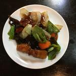 餃麺 しら石 - 酢豚〜(*^▽^*)❤️