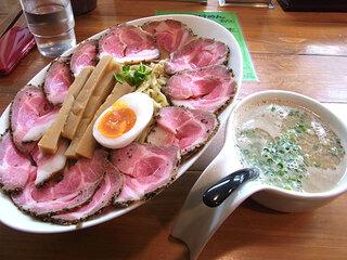 俺のラーメン あっぱれ屋 - スーパーつけ麺(中)チャーシュー増し