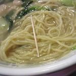 龍門 - 麺の細さ