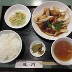 龍門 - 酢豚定食