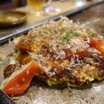 味乃家 - ☆トマト&チーズお好み焼き(●^o^●)☆