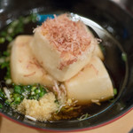 しげきん - 2017.10 揚出し豆腐(340円)