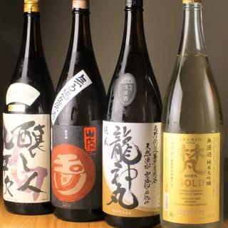 【こだわりの日本酒・日本一の梅酒・焼酎】など多彩な品揃え!