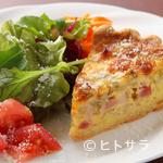 ビストロ ラシェット - 季節の野菜を味わえる『本日のキッシュ(一例)』