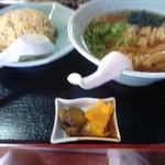 天下一 - 料理写真:半ちゃんセット700円