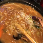 中国料理 廣河 - 料理写真:ピリ辛味噌チャンポン