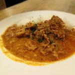 ミナミカレー - 料理写真:ポークビンダル―