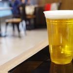 博多カレー研究所 博多とんこつあごだしカレー - 生ビール大