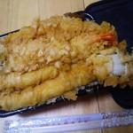 鮮魚仕出し 幾の家 - 穴子丼大盛り海老天追加Ver、これで650円也~