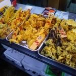 鮮魚仕出し 幾の家 - 穴子、海老以外にも多彩な天ぷら♪