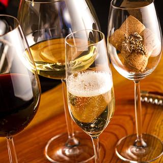 種類が豊富なワインセラー