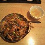 上海厨房 楊家楼 - 五目あんかけ炒飯