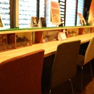 昭和初期の風情ある建物をリノベーションした、ホッと和む空間