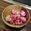 お好み焼き 拓 - 料理写真:ニンニクシソ漬け