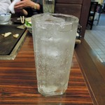 お好み焼き 拓 - レモンハイ