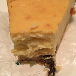 イノダコーヒ - チーズケーキの断面