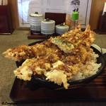天ぷら桂 - 料理写真:海老天丼