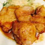 キッチンれん - 豚の生姜焼き