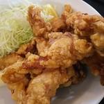 らーめん 梵天 今市店 - 鶏の唐揚げ